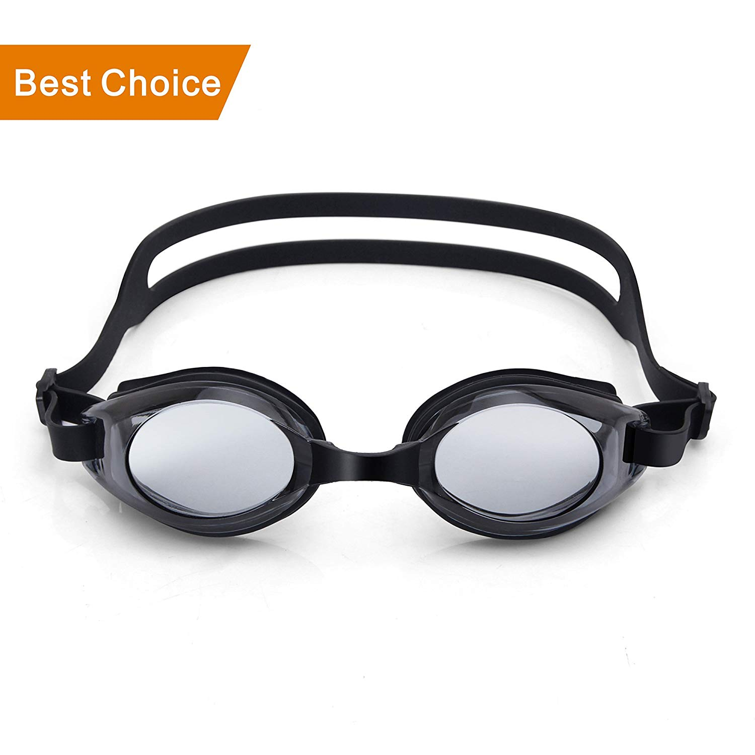 f9a4e1f22fa7 Get Quotations · Lenakrui Swim Goggles Youth Competition Swimming Goggles  for Men Women kids Boys Girls Toddlers Anti-