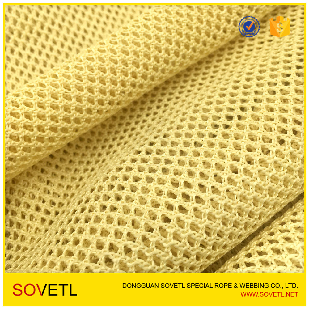 Flame retardant aramid mesh fabric for jacket vest firefighter worker clothing