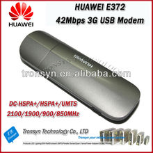 New Original Unlock DC-HSPA+ 42Mbps E372 Micro 3G USB Dongle Support 850/900/1900/2100Mhz