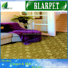 Newest branded machine tufted print carpet