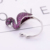 Fashion opening Inlay Zircon Flamingo Animal Ring for Women Wholesale