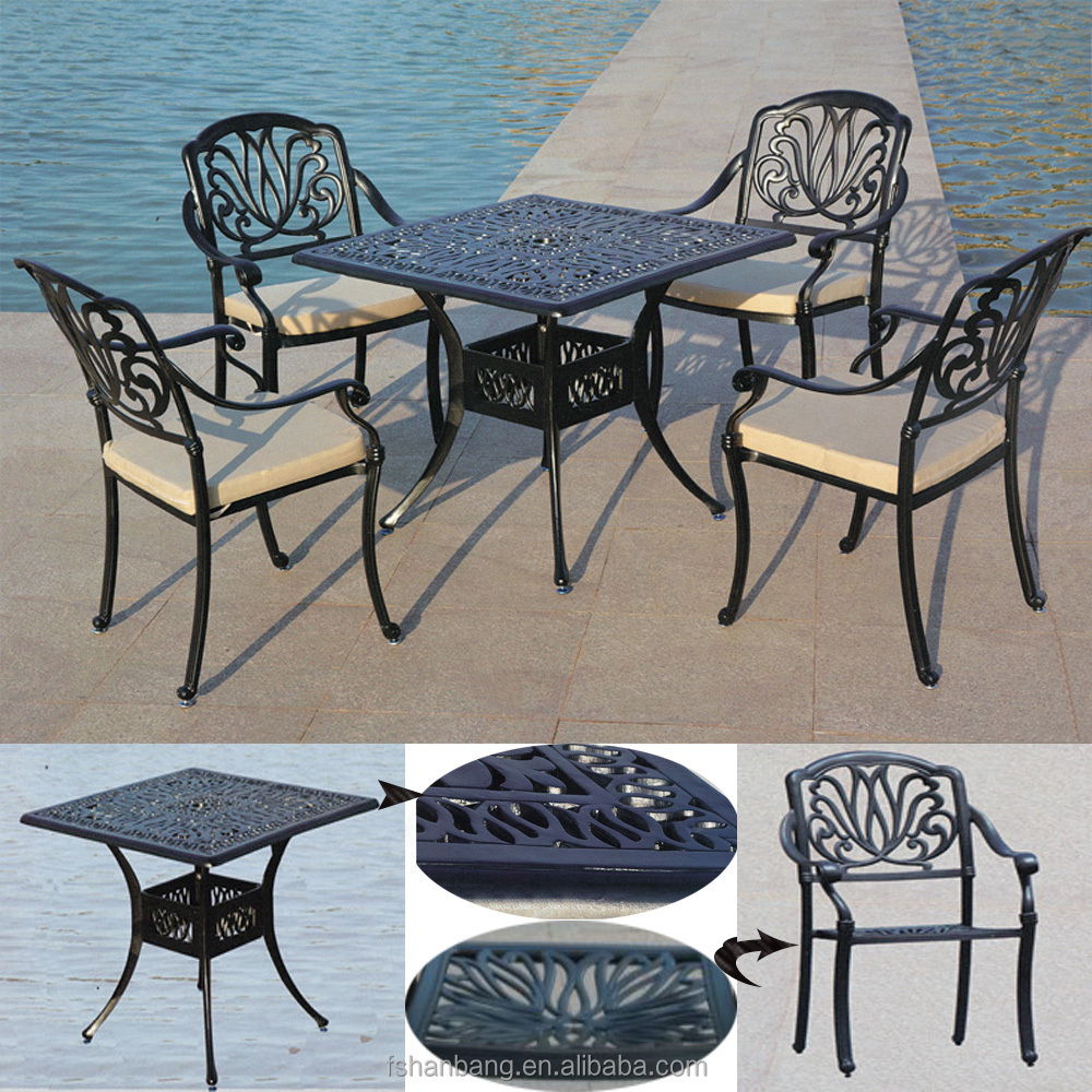 Modern Royal Waterproof Cast Aluminum Outdoor Garden Furniture Part 55