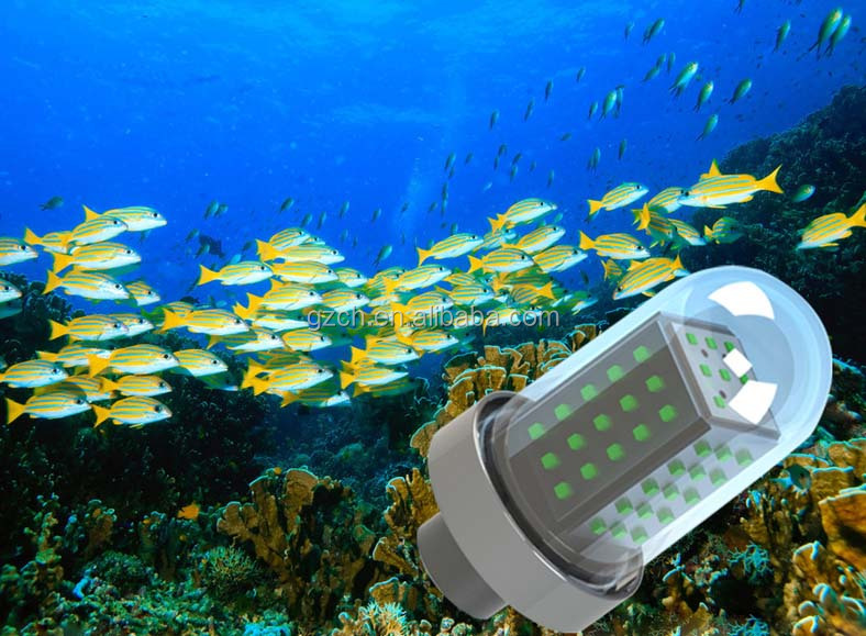 Deep Ocean Sea Drop Led Fishing Light Underwater Fishing Lamp 10w ...