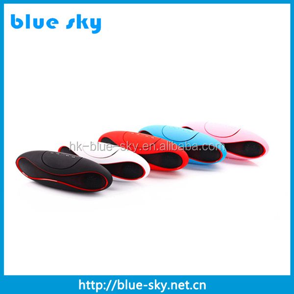 mini multifunctional bluetooth speaker with mic handsfree functions and good sound performance