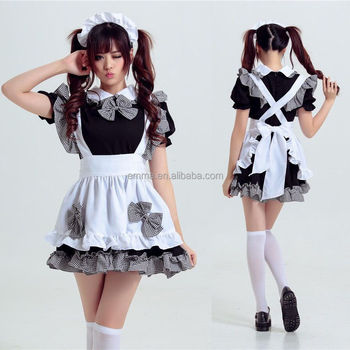 Cute cosplay sexy beer loolita maid outfit costume party dress set Japan anime BWG20093  sc 1 st  Alibaba & Cute Cosplay Sexy Beer Loolita Maid Outfit Costume Party Dress Set ...