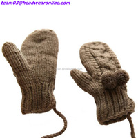 High Popular Warm Gloves Autumn and Winter Outdoor Acrylic Knit Gloves