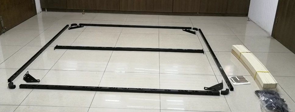 storage slat bed frame with bed lift  frame with gas lift