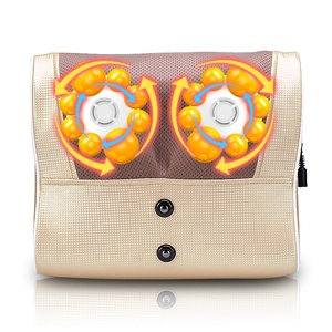 Factory price electric neck kneading massage pillow