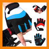 New Breathable Summer Cycling Bike Bicycle Sports Palm Pad Half Finger Gloves