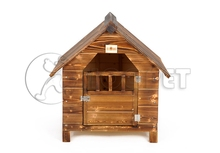 Wood Designer Dog Kennels Furniture