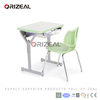 orizeal school furniture single flexing student desk and chair
