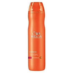 Wella Enrich Volumizing Shampoo for Fine To Normal Hair for Unisex, 10.1 Ounce by Wella