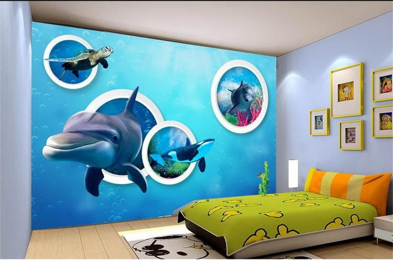 Creative Custom 3d Photo Wallpaper Hd Sea View Tv: Sea Turtle Bedding Promotion-Shop For Promotional Sea