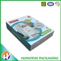 unique custom white cardboard apparel packaging supplies