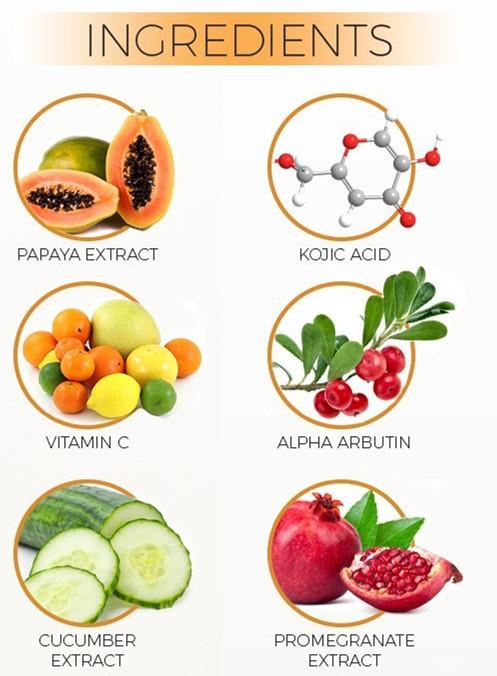 Private Label SPF 40 Kojic Acid Papaya Whitening Body Lotion