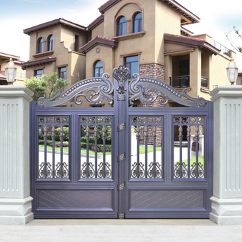 HS LH010 Metal Garden Gate Models Color Designs