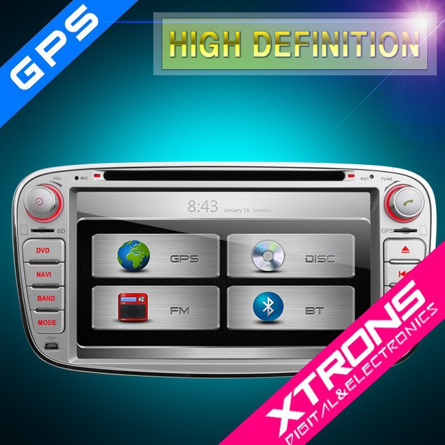 "Xtrons 7"" PX71FSF-S gps touch screen car stero for Ford Canbus WIFI & 3G DVR for Ford"