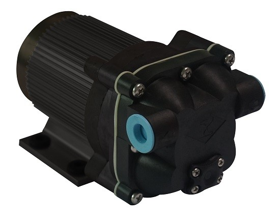B serie borstelloze 4 kamer diafragma grote flow ro booster water