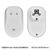 Top selling convenient AU/US/European/UK/CN standard wall electric socket outlet case
