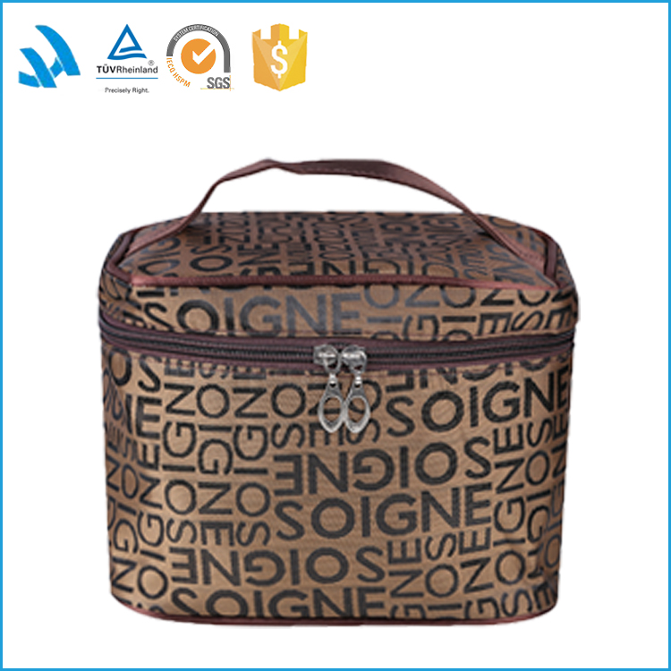 Wholesale large travel tote cosmetic toiletry bag