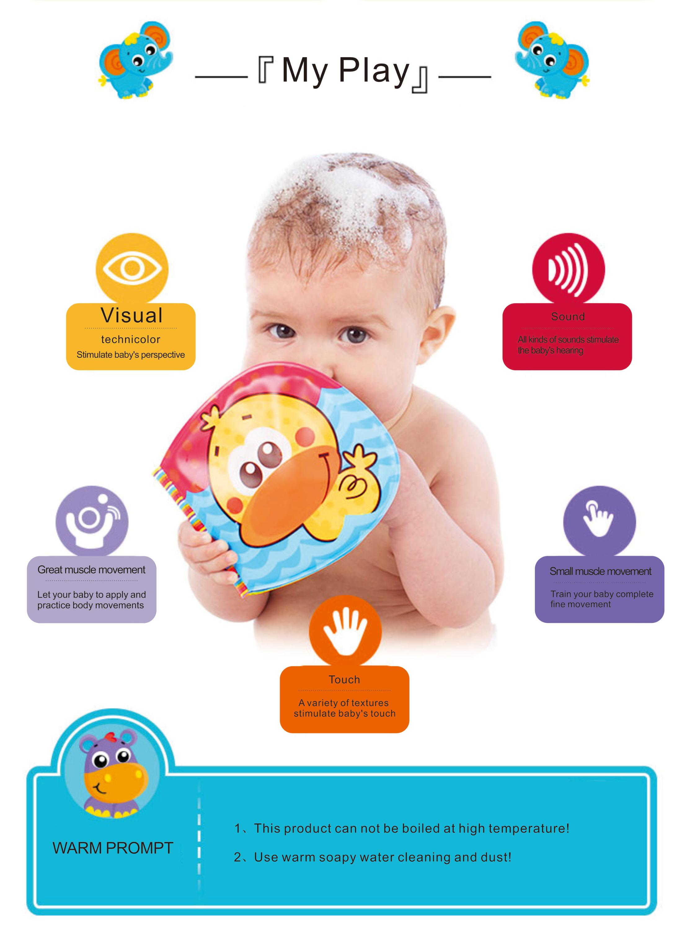 Cheap Soft Touch And Feel Books For Children/waterproof Baby Bath ...