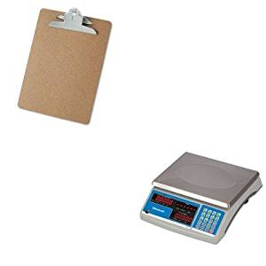 KITSBWB140UNV40304 - Value Kit - Salter Brecknell Electronic 60 lb. Coin amp; Parts Counting Scale (SBWB140) and Universal 40304 Letter Size Clipboards (UNV40304)