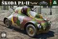 Takom 1 35 WWII Skoda PA II Turtle 2024