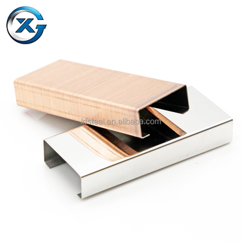 Stainless Steel U Trim,stainless Steel Trim For Hotel Projects,stainless  Steel Door