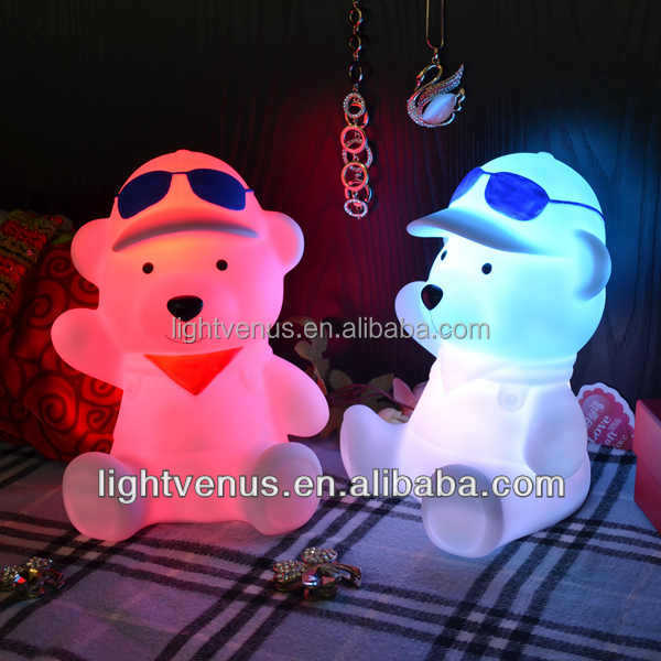 New Style Color Changing Animal Shape Led Bedroom Light For ...