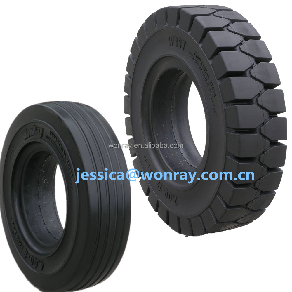 China tyre brands Wonray aircraft tow tractor airport trailer tire 4.00-8