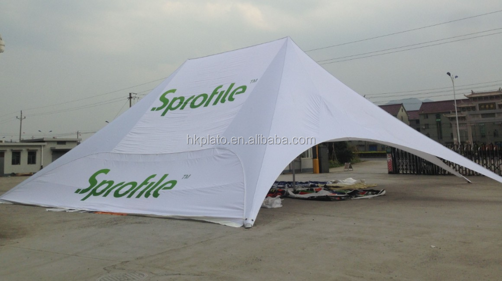 Twin commercial star shelter tents large trade show tents 100 person marquee tent for & Twin commercial star shelter tents large trade show tents 100 ...