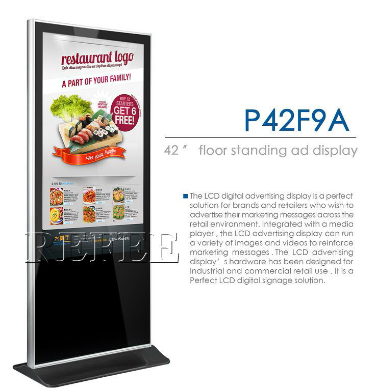 "touch advertising machine touch screen advertising machine touchscreen computer advertising machine 42"" 46"" 55"" 65"""