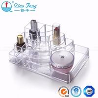 High quality acrylic crystal cosmetic/jewelry makeup organizer display
