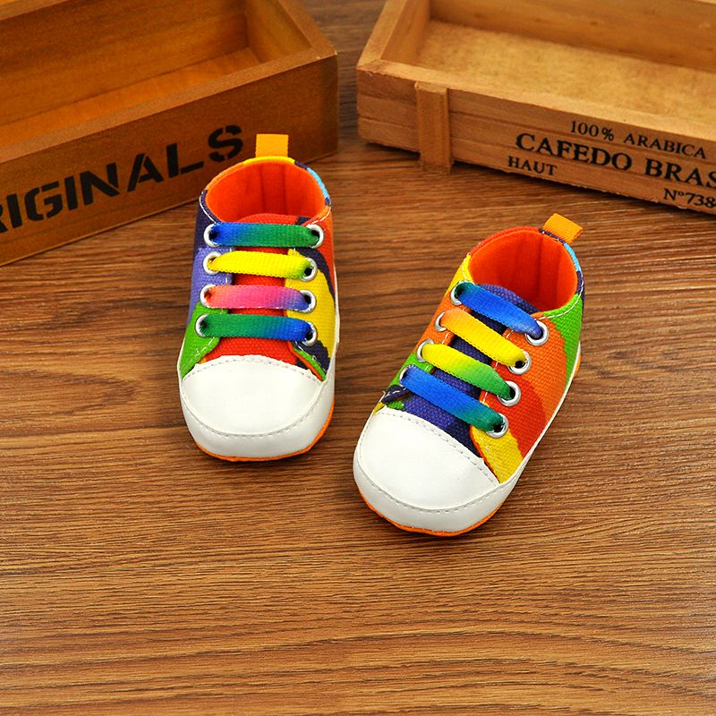 Cute Infant Toddler Baby Soft Sole