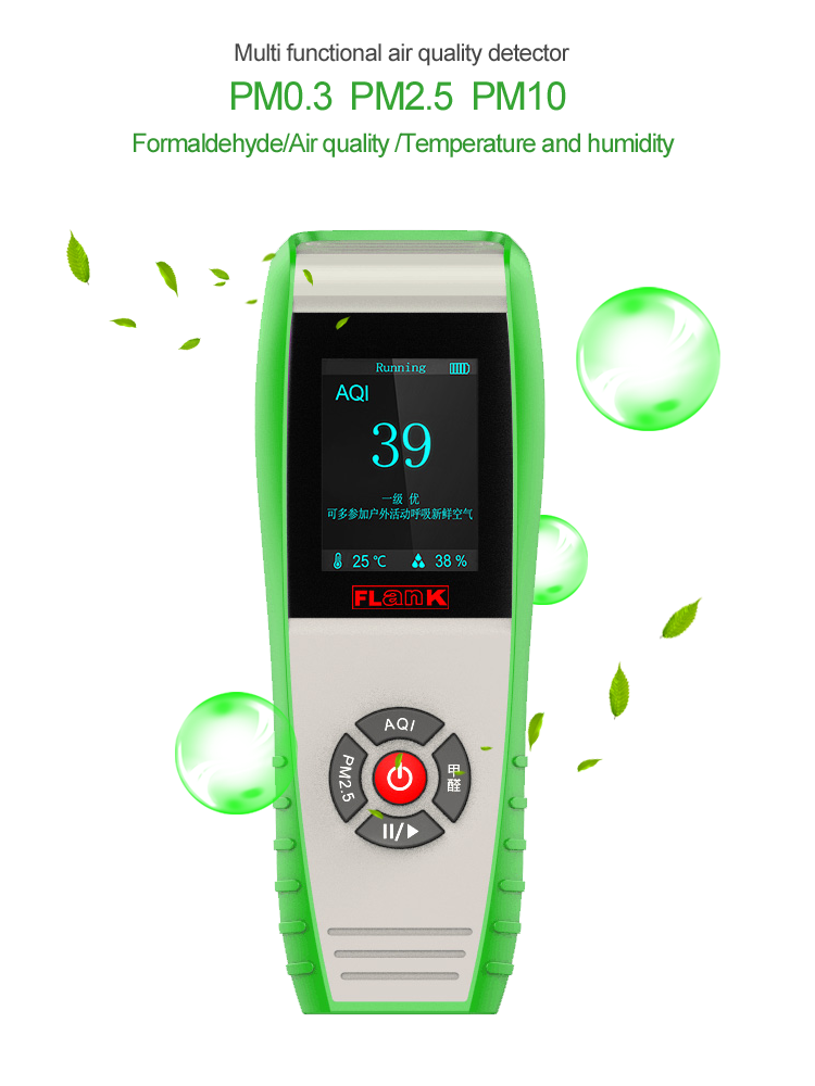 7 In One Temperature Humidity Monitor Air Quality Index Aqi ...