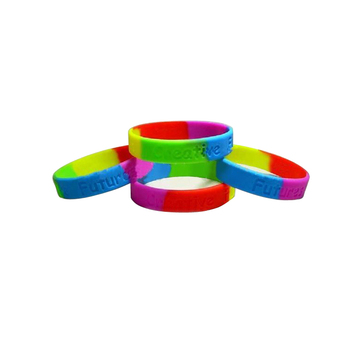 Engraved wristband customize silicone bracelet