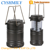 Wholesale outdoor stretch handle zoomable 30 LED portable rechargable led lantern