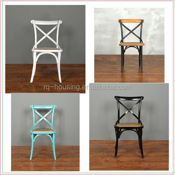 Cane Seat Cross Back Dining Chair For Wholesale Rq A001a Buy Cane Seat Cross Back Dining Chair For Wholesalewooden Chair Seatsplywood Chair Seat