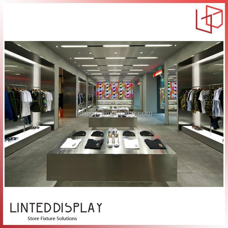 List Manufacturers of Simple Garment Shop Interior Design, Buy ...