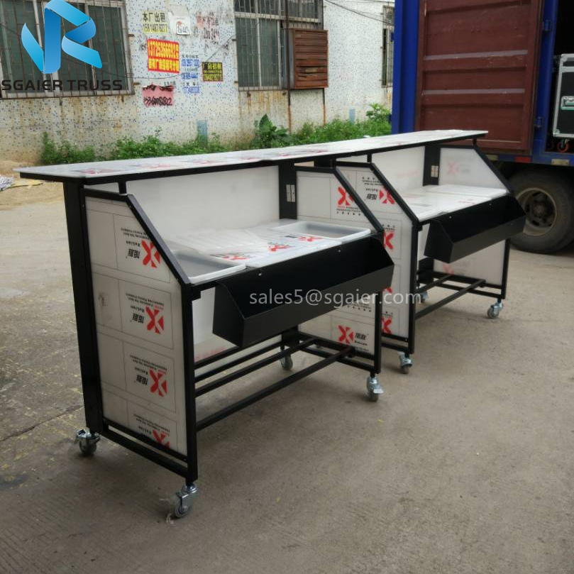 2018 hot aluminum mobile snack bar table with wheels for sale buy 2018 hot aluminum mobile snack bar table with wheels for sale buy snack bar tablemobile snack bar tablealuminum mobile snack bar table product on watchthetrailerfo
