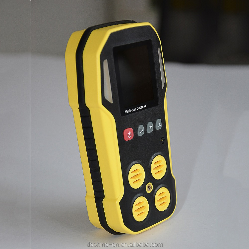 Handheld Flue Gas Analyzer, NOx, SOx, CO2, CO, O2 ambinent gas detector