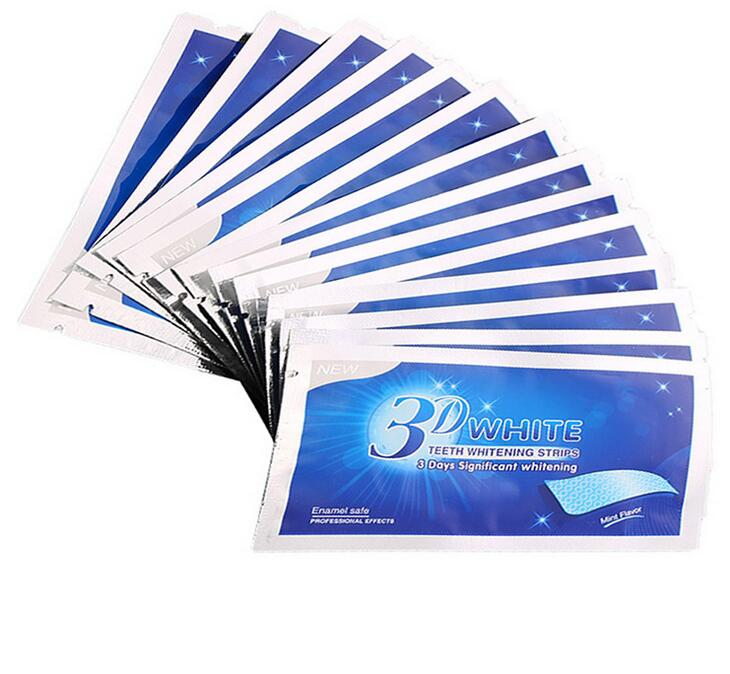 3D White Glamorous Wit Whitestrips Tandheelkundige Tanden Whitening Strips Kit