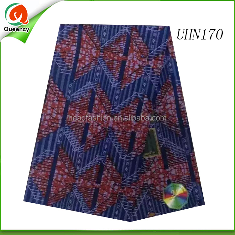 2016 Newest 100 cotton wax printed fabric for bag dress african waxed print fabrics for men garment