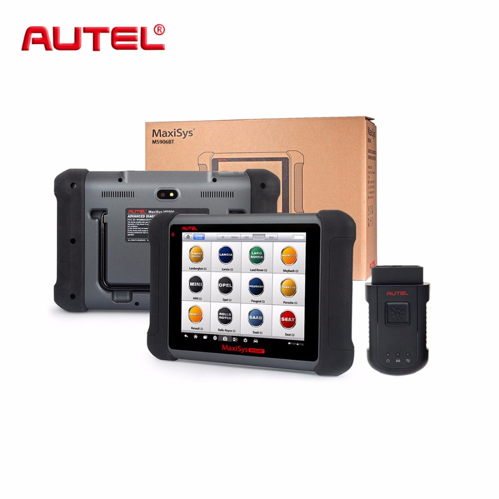 AUTEL MaxiSys MS906BT Wireless אבחון וקידוד ECU סורק טוב יותר מאשר MS908 פרו