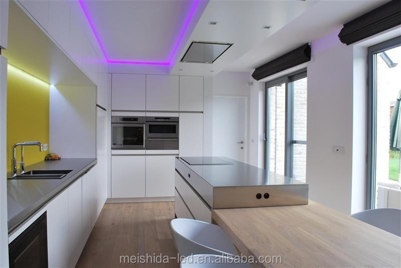Flat Recessed Aluminum Led Channel For Led Ceiling Light