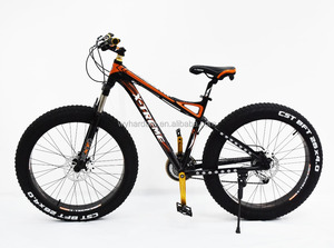 26''24 speed aluminum alloy fat tire dirt bike/beach bike with 4.0 fat bike wheels