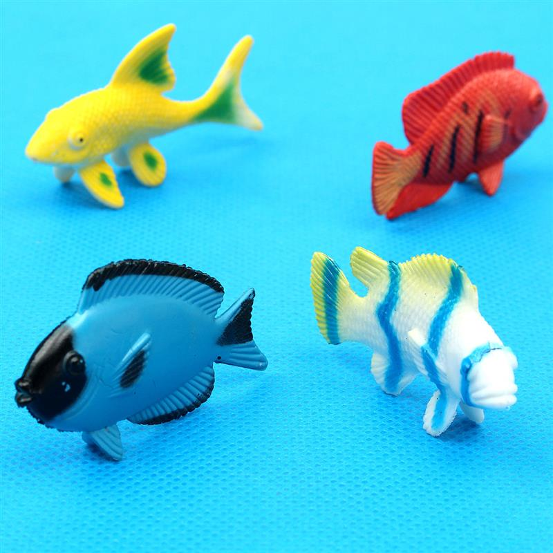 12 Pcs Assorted Ocean Pet Figures Party Toy Gift Small