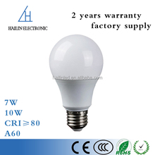 China energy saving lighting ckd raw material smart e27 lamp dimmable 7W 10W led light bulb