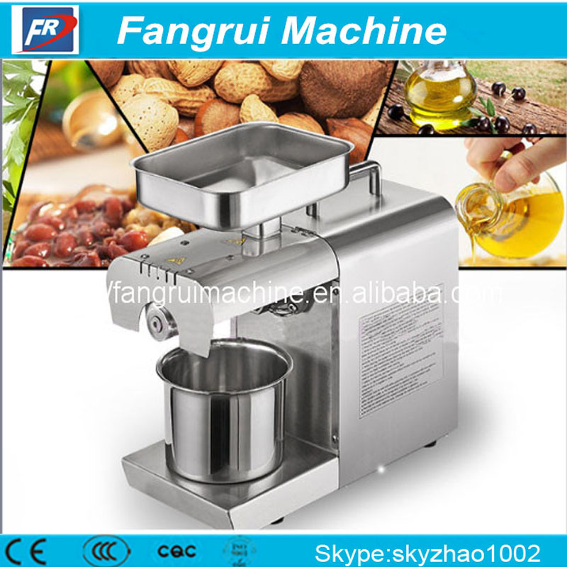 Convenient home oil extractor/ home castor seed oil press machine