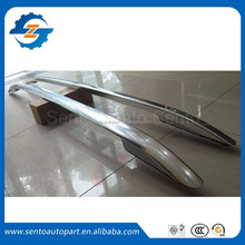 Wholesale silver color tape install aluminium alloy luggage roof rack rail for crv 2012 - 2015